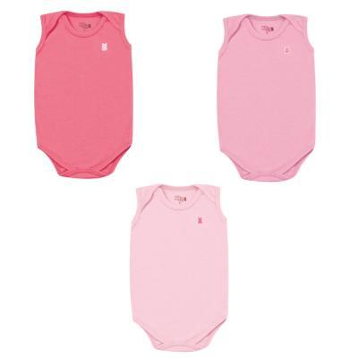 kit-body-regata-3-pecas-kiko-e-kika-pink-rosa-chiclete-e-rosa-bebe