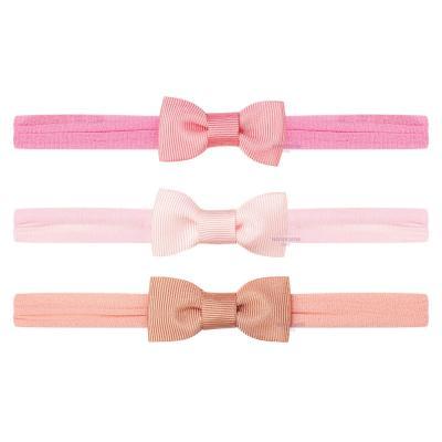 trio-faixas-de-cabelo-com-laco-rosa-chiclete-rosa-e-rose