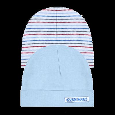 kit-touca-prematuro-2-pecas-azul-e-branco