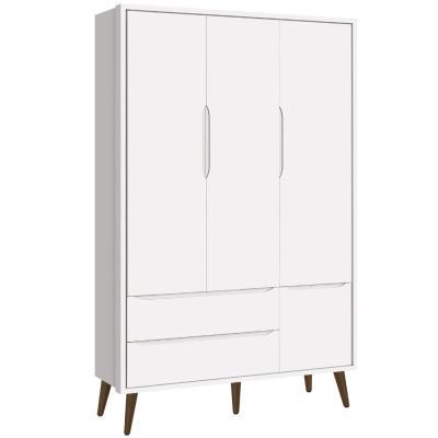 roupeiro-theo-retro-3-portas-reller-branco-fosco-com-pes-em-madeira