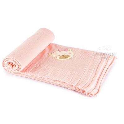 manta-tricot-bordada-classic-rosa-ursinho