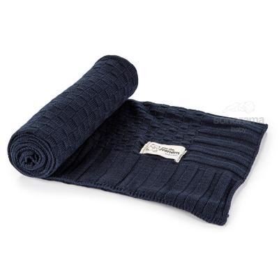 manta-tricot-classic-azul-marinho
