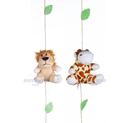 pingente-de-cortina-safari-girafa-e-leao