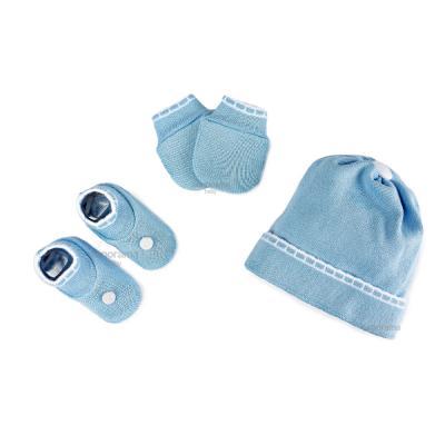 kit-touca-luva-e-sapatinho-de-tricot-para-recem-nascido-azul-e-branco