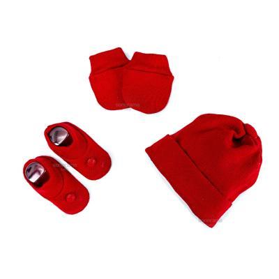 kit-touca-luva-e-sapatinho-de-tricot-para-recem-nascido-vermelho-queimado