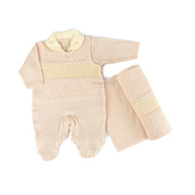 saida-maternidade-tricot-rosa-com-renda