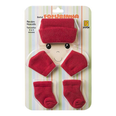 kit-touca-luva-e-meia-fofurinha-para-recem-nascido-vermelho-liso