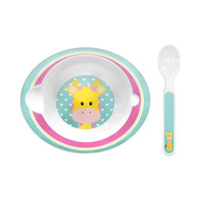 bowl-com-colher-animal-fun-buba-girafa