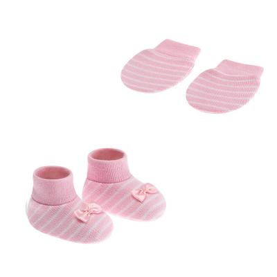 kit-luva-e-sapatinho-0-a-3-meses-rosa-listra-com-laco