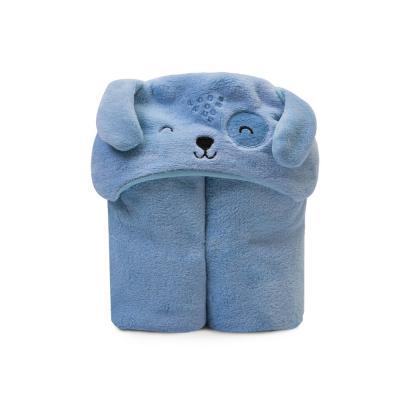cobertor-microfibra-com-capuz-mami-bichuus-azul-cachorrinho