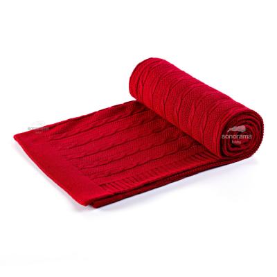 manta-tricot-tranca-vermelho-queimado