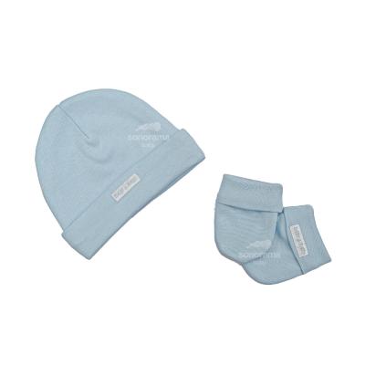 kit-touca-e-luva-bebe-azul