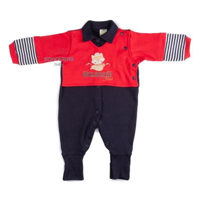 macacao-longo-bordado-rapozinha-azul-marinho-e-vermelho