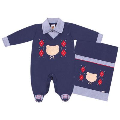 saida-maternidade-urso-bordado-azul-marinho-com-xadrez