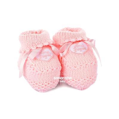 sapatinho-de-trico-botinha-amo-papai-rosa