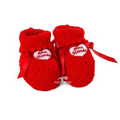 sapatinho-de-trico-botinha-amo-mamae-vermelho