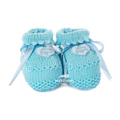 sapatinho-de-trico-botinha-amo-papai-azul